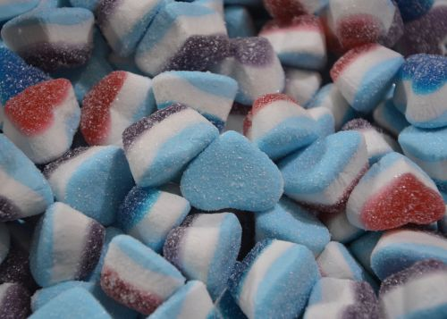 candy shape heart candy confectionery
