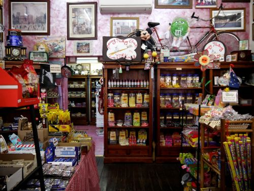 candy shop shop goods