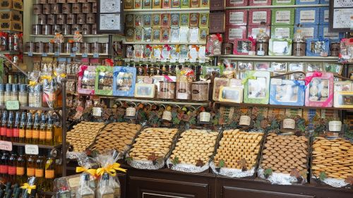 candy store confectionery music