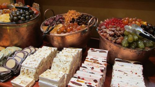 candy store nougat sweets