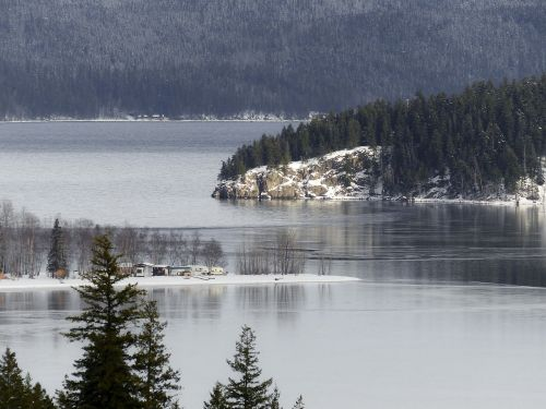 canim lake british columbia canada