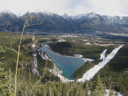 Canmore Alberta Valley