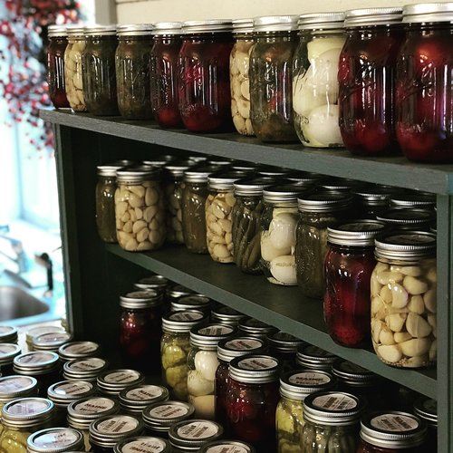 canned  canning  farm stand