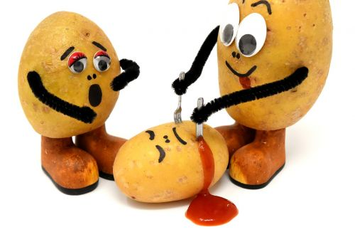 cannibals funny potatoes