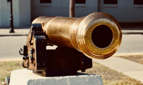 cannon gold military