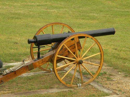 cannon civil war reenactment