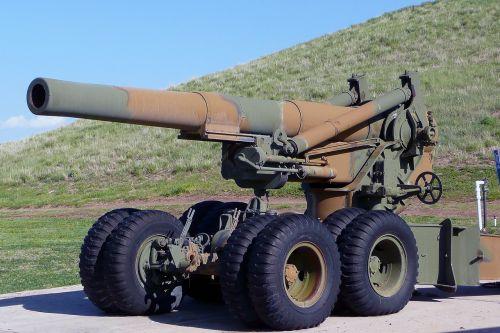 cannon war equipment technic