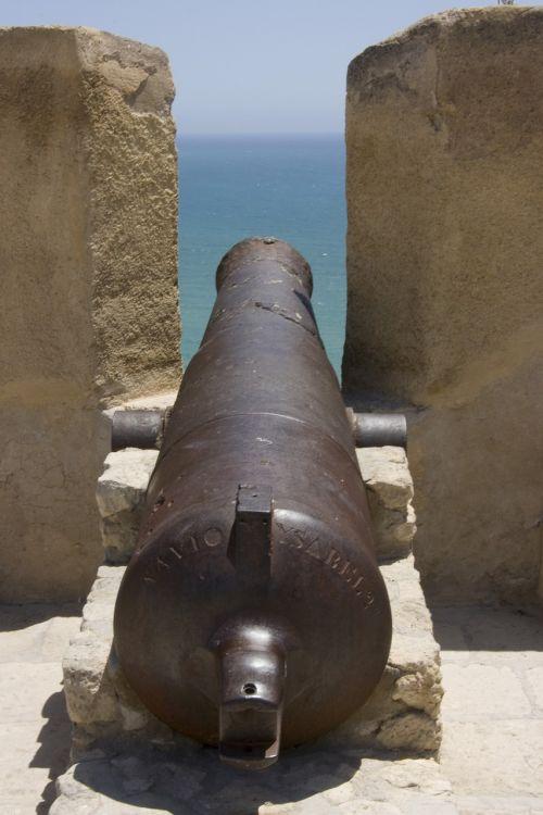 cannon alicante castle