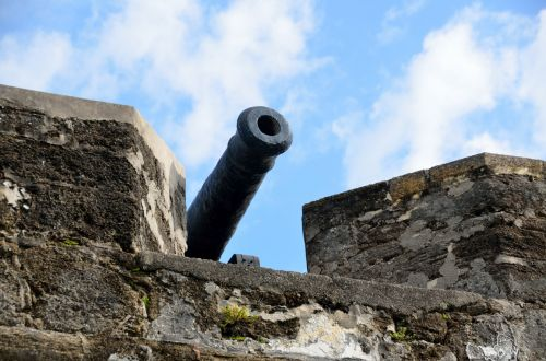 Cannon At Fortress