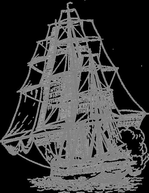 cannon fire pirate ship sailing ship