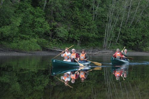 canoe canoe trip randselva