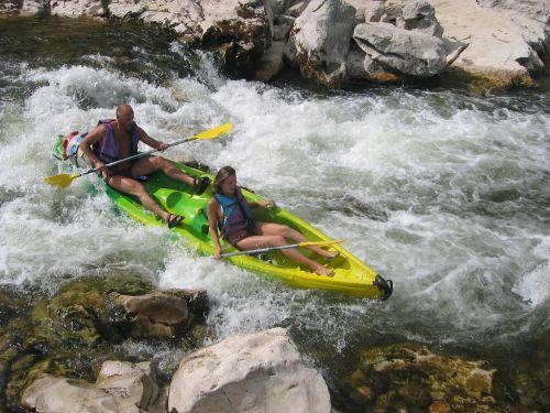 canoe france river