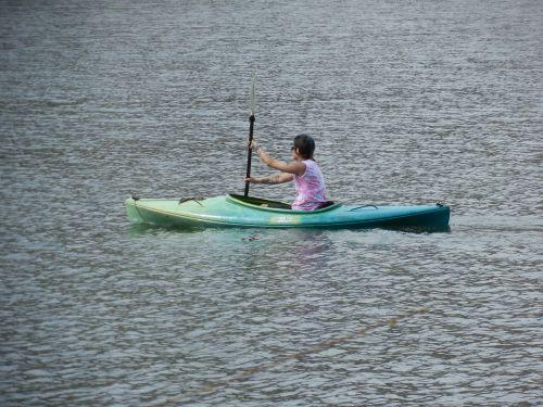 canoe kayak water