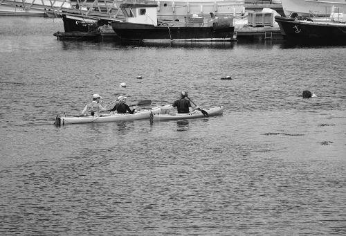 Canoe Kayak Couple
