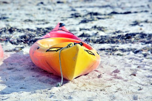 Canoe On The Sand