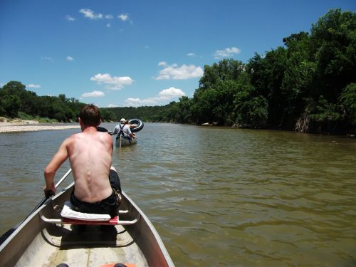 canoeing brazos river texas