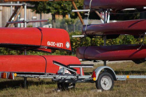 canoeing rest silent