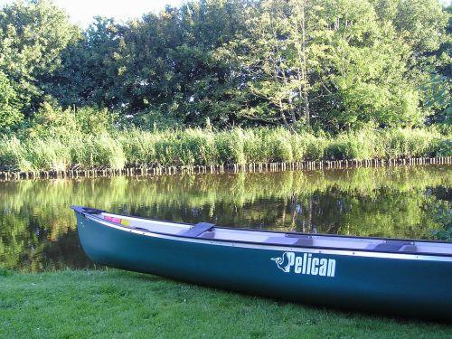canoeing paddle east frisia