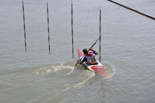 canoeing paddler paddle