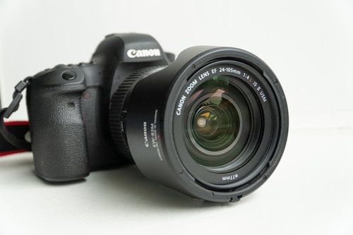 canon  camera  6d mark ii