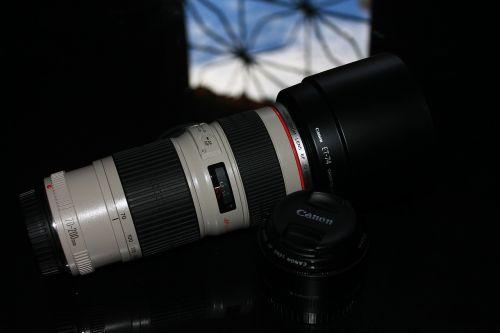 canon lens photo