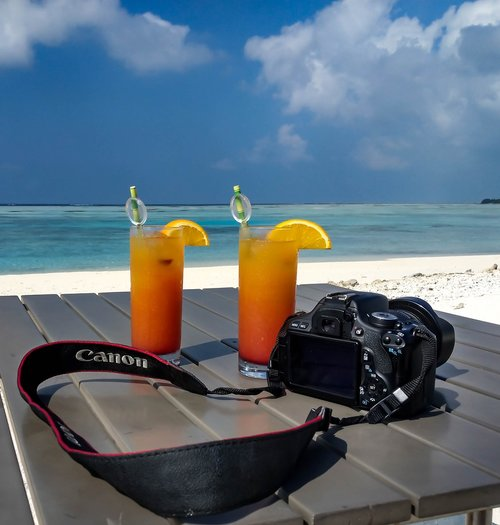 canon  cold drinks  sky