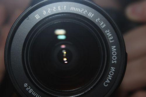 canon eos 600d camera objective camera lens