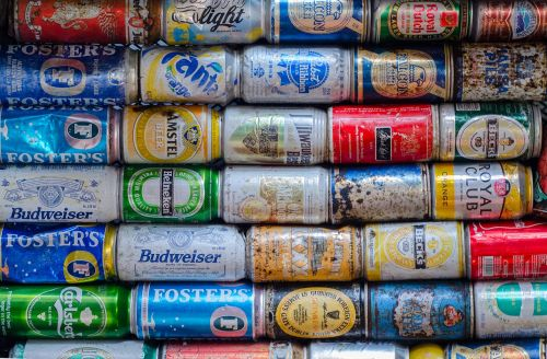 cans drink pollution