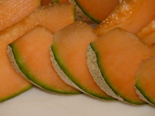 cantaloupe melon yellow
