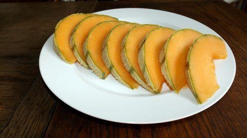 cantaloupe fruit food