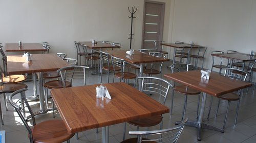 canteen  chairs  restaurant