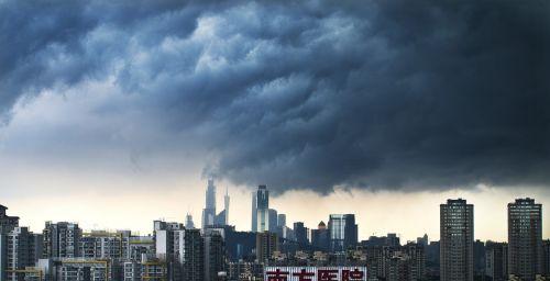 canton rainstorm the scenery