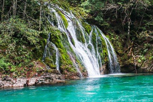 canyon  montenegro  cascade