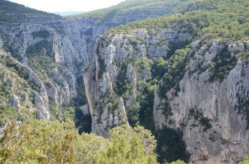 canyon du verdun climbing area rock
