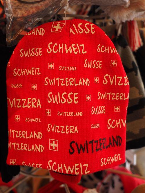 cap red ski cap
