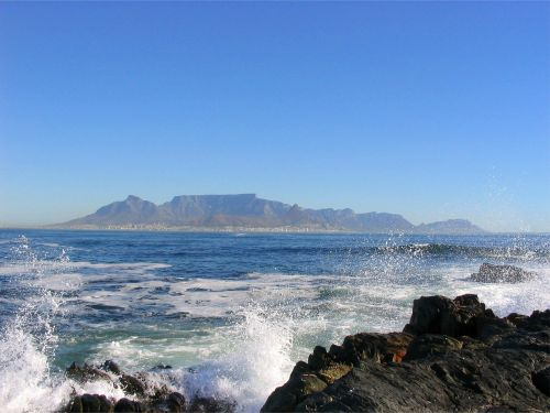 cape town table
