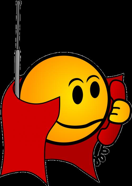 cape phone smiley