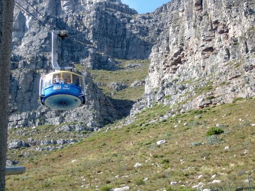 cape town cable car funicular