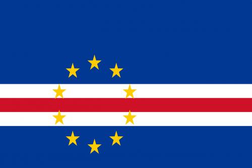 cape verde flag national flag