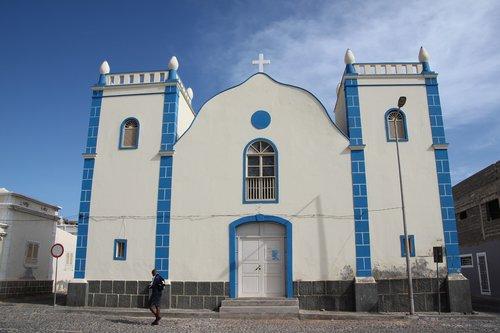cape verde  boa vista  church