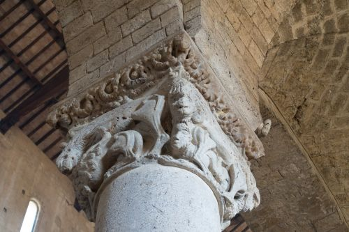 capital pillar abbey