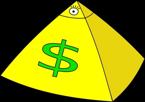 capitalism pyramid dollar