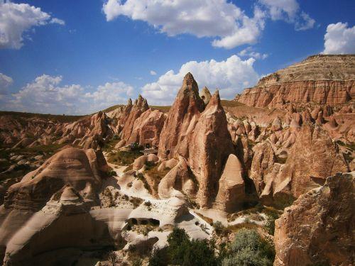 cappadocia tufa fairy chimneys