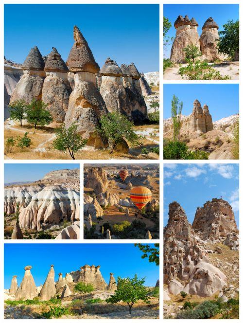 Cappadocia Collage