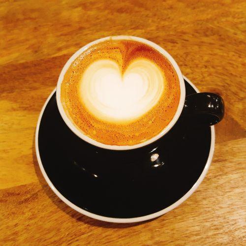 cappuccino coffee latte art