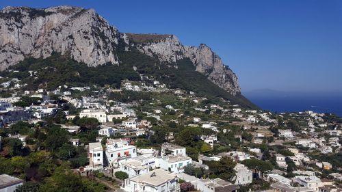 capri island holiday