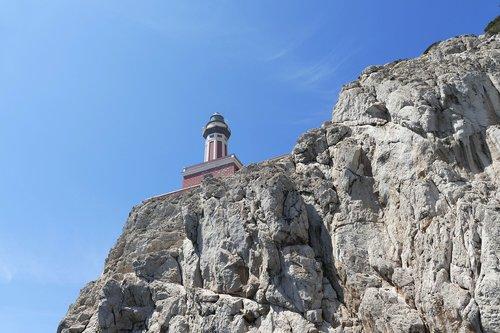 capri  italy  coast