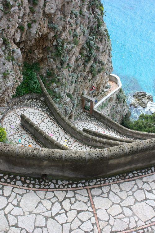 capri trail sea