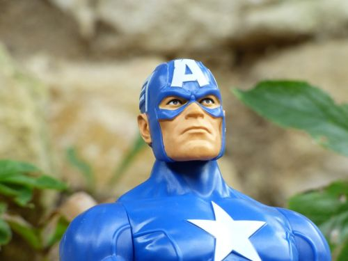 captain america super hero toy