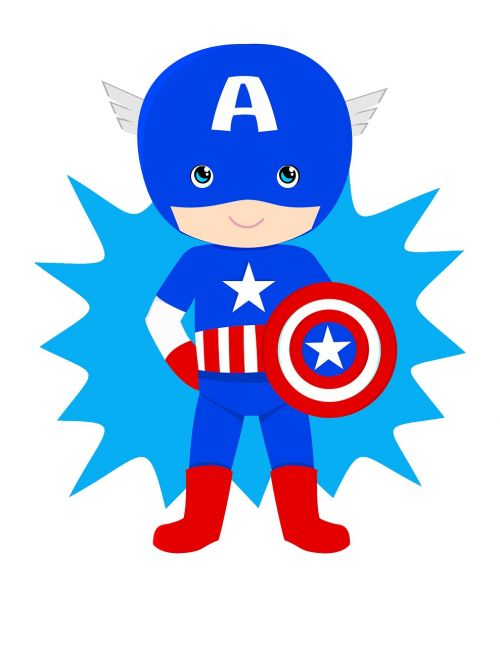 captain american kid hero